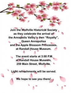 Apple Blossom event